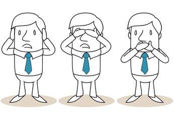 Privatinsolvenz verständlich und kompakt erklärt / Nicht hören. Nicht sehen. Nicht sprechen.